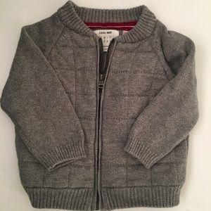 Zara boys zip sweater